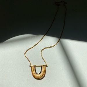 Madewell rainbow necklace
